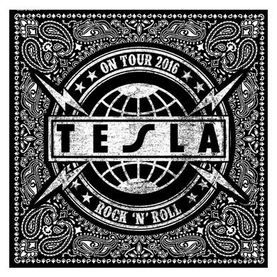 Tesla On Tour 2016 Bandana