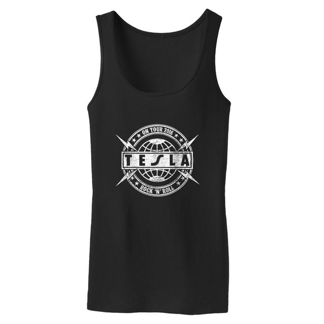 Tesla On Tour 2016 Ladies Tank Top