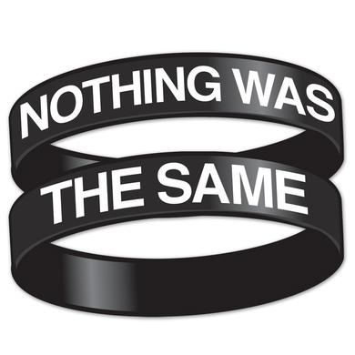 Drake Nothing Was The Same Rubber Bracelet - black