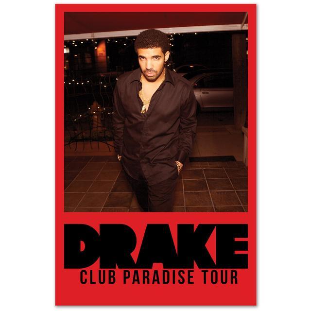 Drake Club Paradise Tour Poster