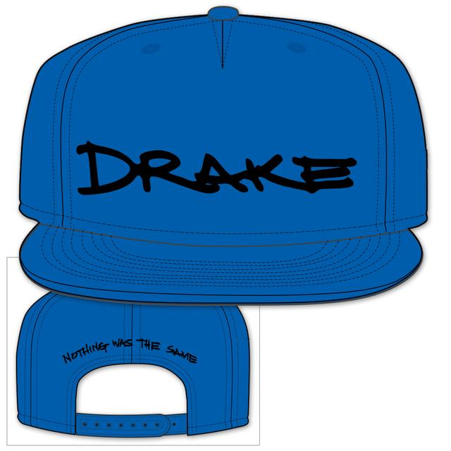 Drake Nothing Was The Same Snap back - blue