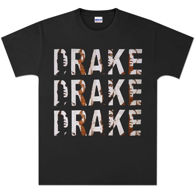 Drake Triple Logo T-Shirt