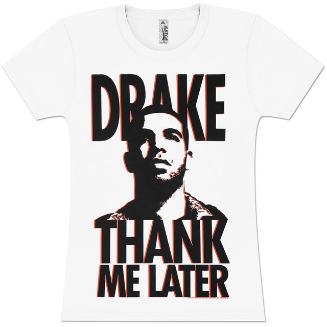 Drake Thank Me Later Girls' Fitted T-Shirt