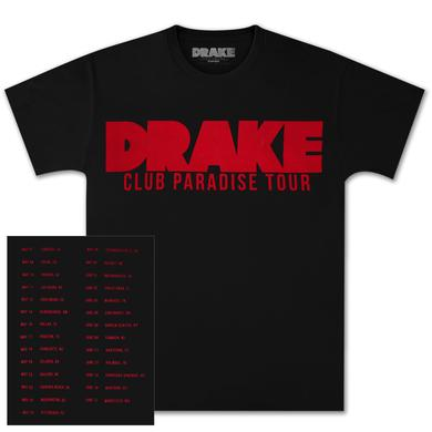 Drake Club Paradise Tour T-Shirt