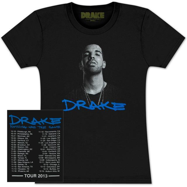 Drake Would You Like a Tour Dateback JR T-Shirt