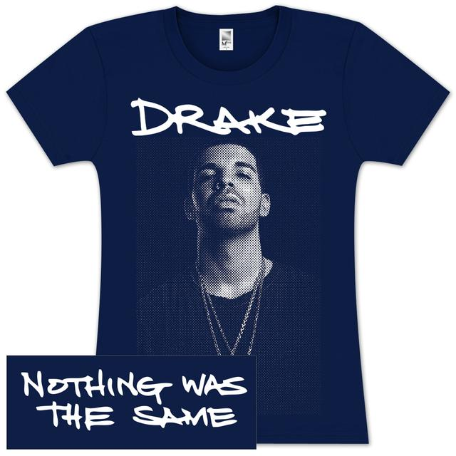 Drake Nothing Was The Same Junior T-Shirt - navy