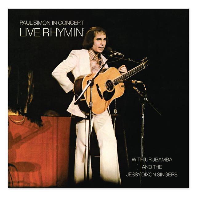 Paul Simon In Concert: Live Rhymin' CD