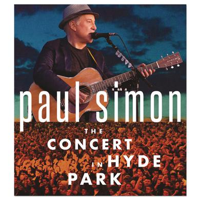 Paul Simon The Concert in Hyde Park CD/BR DVD