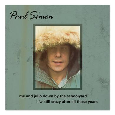 Paul Simon Threads + Grooves 7 Inch Vinyl LP