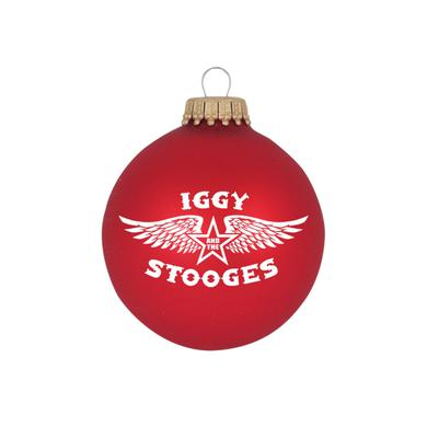 "Iggy and the Stooges Wings 3 1/4"" Glass Ornament"