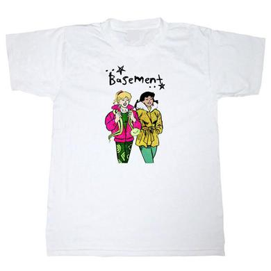 Basement GIRL TOUR WHITE T-SHIRT