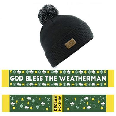Declan Mckenna SCARF AND BEANIE BUNDLE