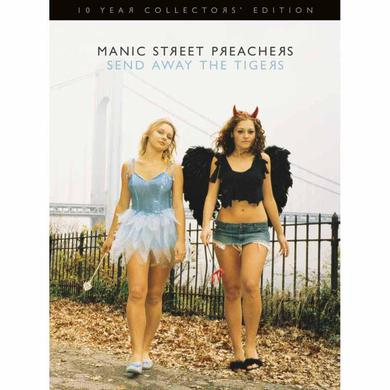 Manic Street Preachers SIGNED SEND AWAY THE TIGERS 10 Year Collectors' Edition 2CD/1DVD BOOK SET