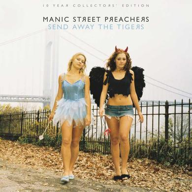 Manic Street Preachers SIGNED SEND AWAY THE TIGERS 10 Year Collectors' Edition 2LP GATEFOLD