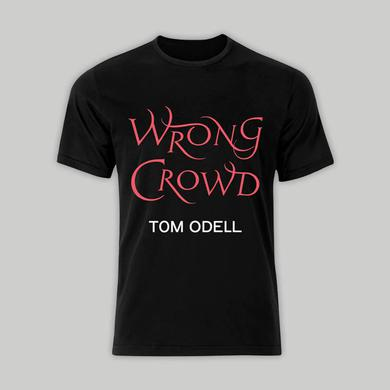 Tom Odell WRONG CROWD BLACK T-SHIRT
