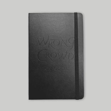 Tom Odell WRONG CROWD DEBOSSED NOTE BOOK