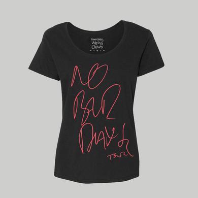 Tom Odell NO BAD DAYS 2017 GIRLS TOUR T-SHIRT