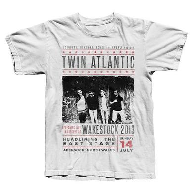 Twin Atlantic WHITE WAKESTOCK TEE