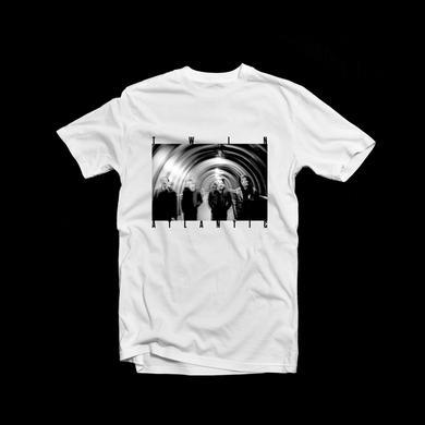 Twin Atlantic Tunnel Photo T-shirt White