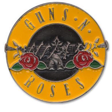 Guns N' Roses Bullet Logo Enameled Belt Buckle