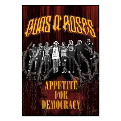 Guns N' Roses Appetite for Democracy Las Vegas Program