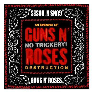 Guns N' Roses No Trickery Bandana