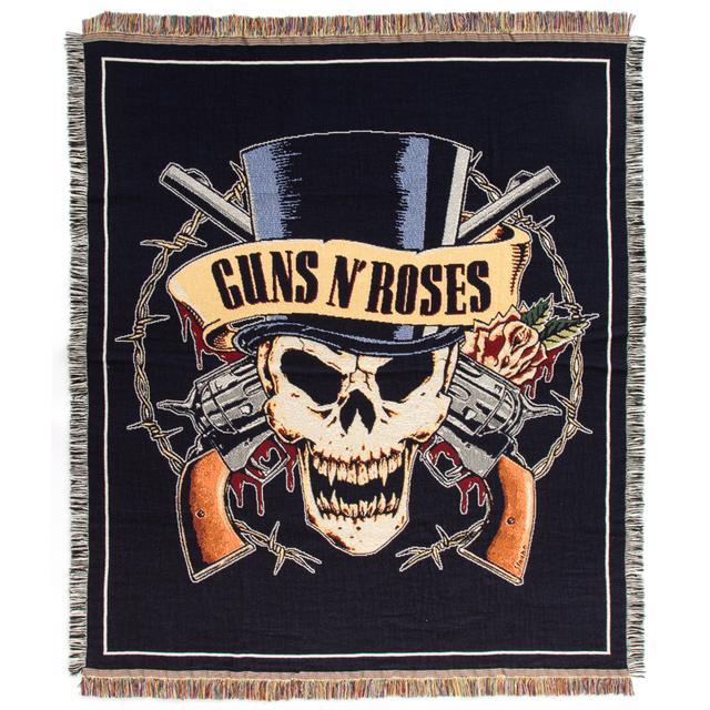 Guns N Roses Skull Blanket