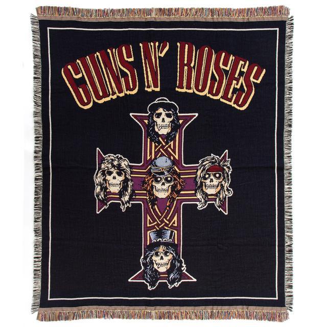 Guns N Roses Cross Logo Blanket