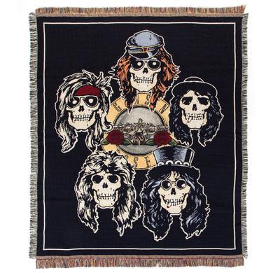 Guns N Roses Skull Head Blanket