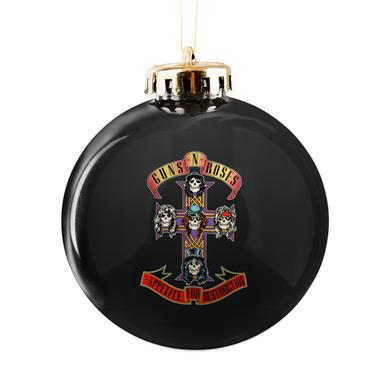 Guns N Roses Cross Logo Ornament