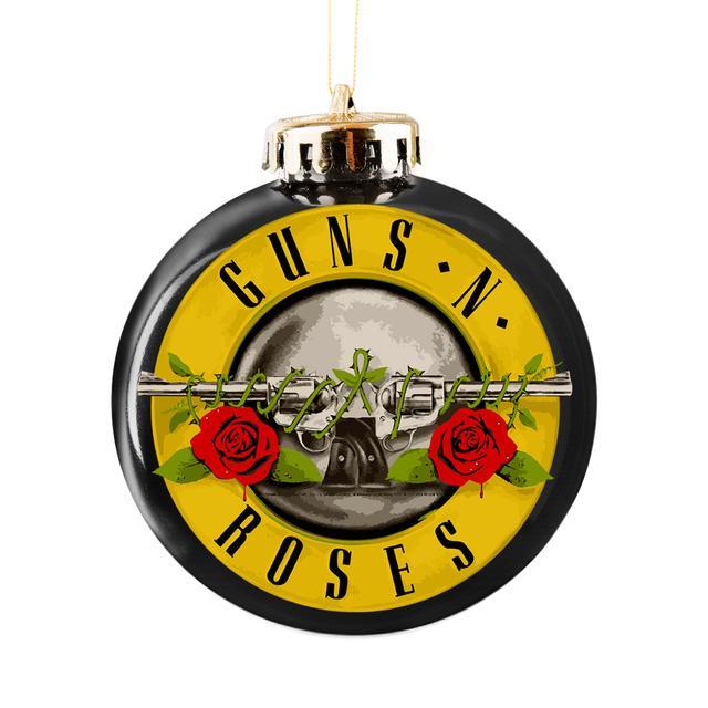 Guns N Roses Bullet Logo Ornament