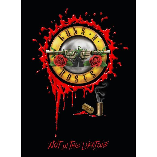 Guns N' Roses NOT IN THIS LIFETIME TOUR PROGRAM
