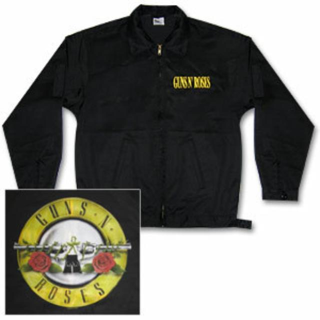Guns N' Roses Bullet Logo Work Jacket