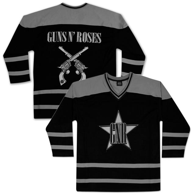 Guns N' Roses Star Logo Hockey Jersey