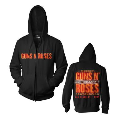 Guns N' Roses Zip Up Hoodie