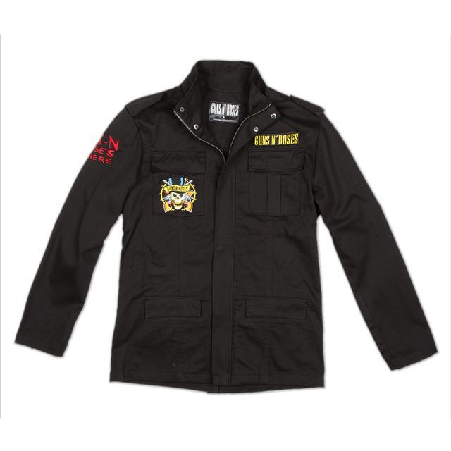 Guns N' Roses Gnr Cross Army Jacket