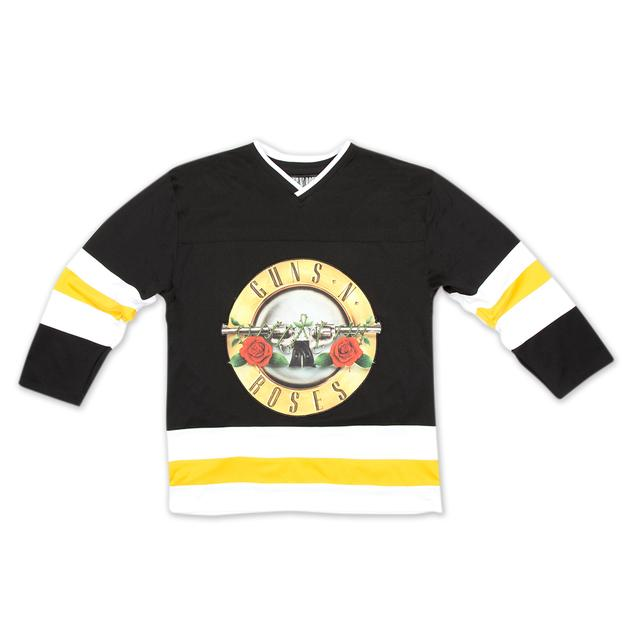Guns N' Roses Bullet Hockey Jersey