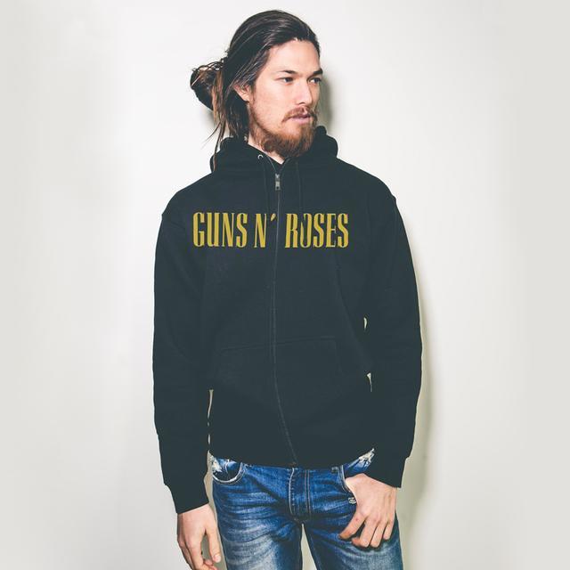 Guns N' Roses CROSS ZIP HOODIE