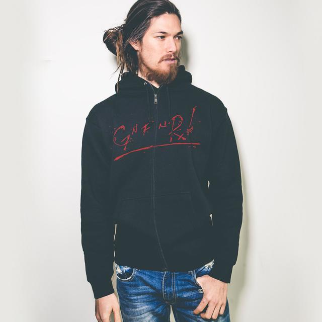 Guns N' Roses Gn' F'n R Zip Hoodie
