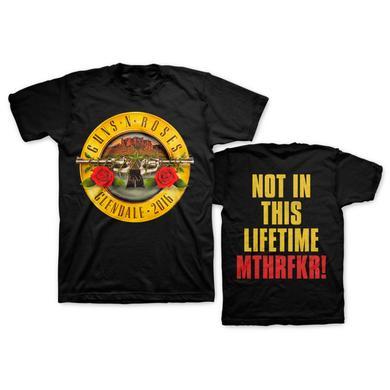Guns N' Roses Skyline Bullet Tee - Glendale