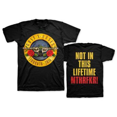 Guns N' Roses Skyline Bullet Tee - Toronto