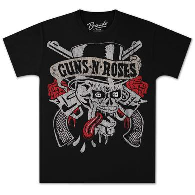 Guns N' Roses Tongue Skull T-Shirt
