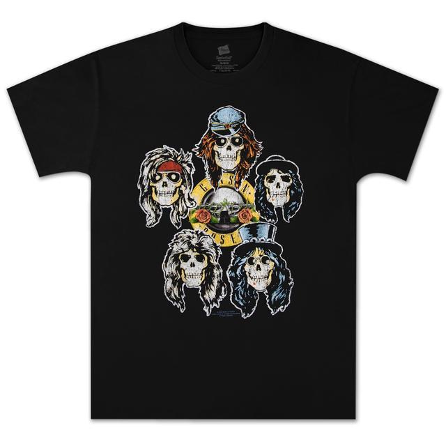 Guns N' Roses Heads Vintage T-Shirt
