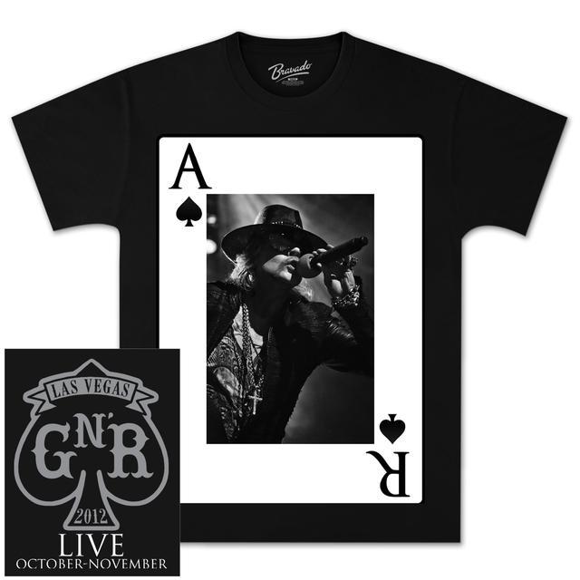 Guns N' Roses Ace Axl T-Shirt