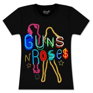 Guns N' Roses Neon Babydoll