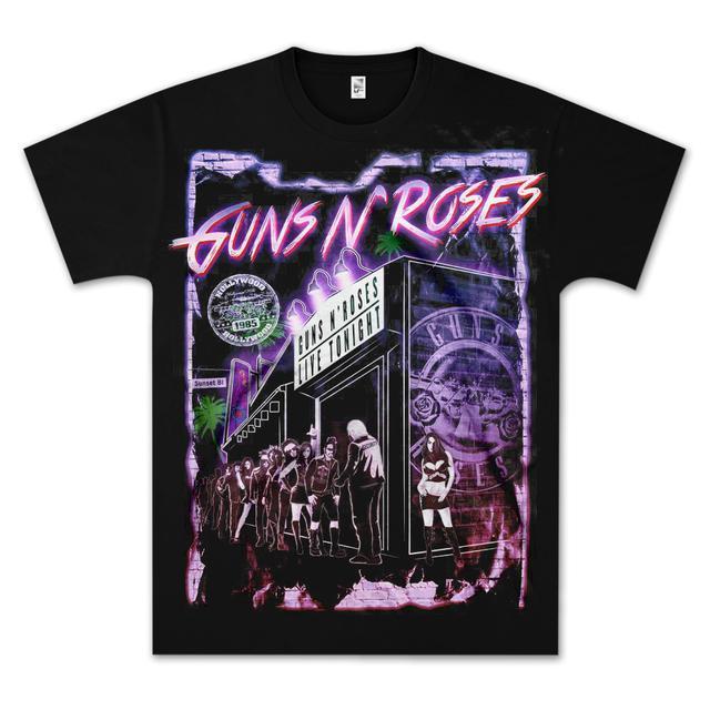 Guns N' Roses Sunset Blvd T-Shirt