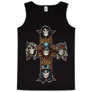 Guns N' Roses Guns & Roses Vintage Cross Mens Tank Top