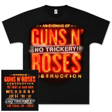 Guns N' Roses Vegas Tour T-Shirt