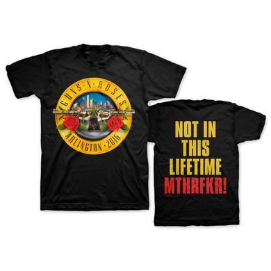 Guns N' Roses Skyline Bullet Tee - Arlington