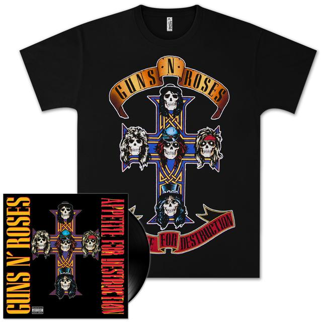 Guns N' Roses Appetite For Destruction Vinyl Box Set